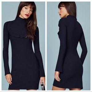 NWT Reformation Greer Mini Mock Neck Sweater Dress